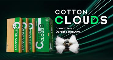 Vapefly, Cotton Clouds, 3mm, 1.5m