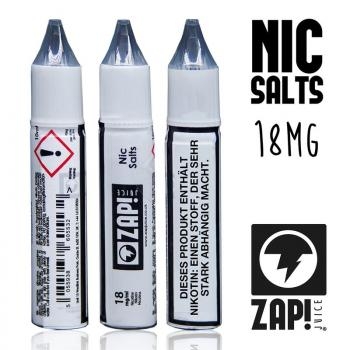 Zap Juice Nikotinsalz Shots, 70VG/30PG, 18mg/ml